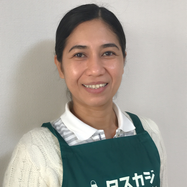 Beth's profile|Housekeeping Matching Platform TASKAJI -from 1500 yen/hour